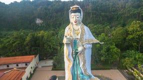 Quan Yin den kinesiska gudinnan av förskoning och medkänsla Arkivbild