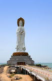 Quan Yin (goddess of mercy). Hainan island, China Royalty Free Stock Photo
