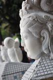 Quan Yin Head Flank Royalty Free Stock Images