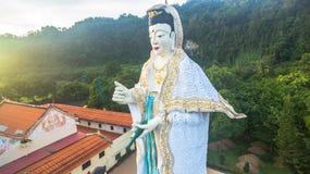 Quan Yin la déesse chinoise de la pitié et de la compassion Image stock