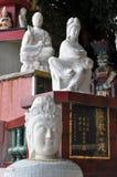 Quan Yin marmormoment Royaltyfri Bild