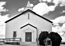 Quand l'église se ferme Images libres de droits