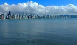 Quand le ciel touche la mer photo libre de droits
