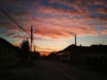 Quand le soleil monte Photo stock