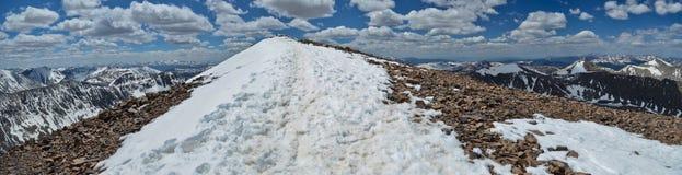 Quandary Peak - Colorado stock photography
