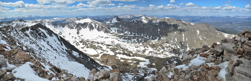 Quandary Peak - Colorado Stock Photo
