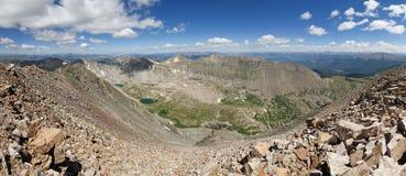 Quandary Peak Panorama Royalty Free Stock Images