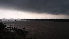 Quando as nuvens tomarem sobre! Foto de Stock