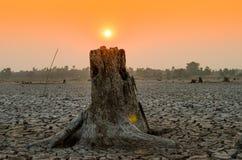 Quando la nostra mancanza di acqua del mondo Fotografia Stock