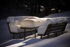 Quando riposo di inverno Fotografie Stock