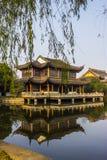 Quanfu Buddyjska świątynia w Zhouzhuang Chiny Zdjęcia Stock
