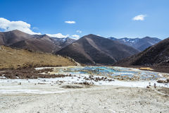 Quanhua tan Calcified pond Royalty Free Stock Images