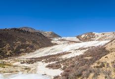 Quanhua tan glacier Royalty Free Stock Image