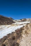 Quanhua tan glacier Royalty Free Stock Photos