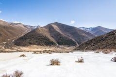 Quanhua tan glacier Stock Photos