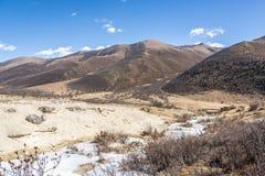 Quanhua tan glacier Stock Image
