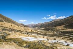 Quanhua tan glacier Stock Photo