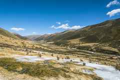 Quanhua tan glacier Royalty Free Stock Images