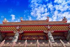 Quanji świątynia, Jiufen, Tajwan Fotografia Royalty Free