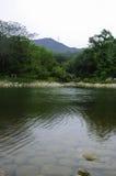 Quanshan Forest Park. Lake Longquan of Quanshan Forest Park Stock Image