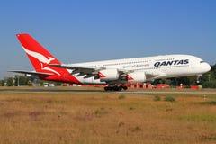 Quantas A380 foto de stock royalty free