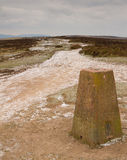 Quantock Hills Somerset England in winter Stock Photography