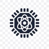 Quantum computing transparent icon. Quantum computing symbol design from Future technology collection. Simple element vector vector illustration