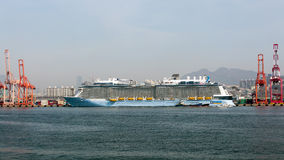 Quantum del buque de pasajeros de los mares Foto de archivo
