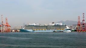 Quantum della nave passeggeri dei mari Fotografia Stock