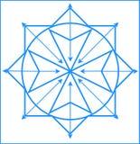 Quantum-physics logo stock photography