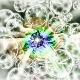 Quantum Reality - Multiple Universes - Relativity Theory. Abstract Illustration Royalty Free Stock Photo