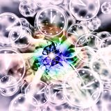 Quantum Reality - Multiple Universes - Relativity Theory. Abstract Illustration Stock Photography