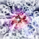 Quantum Reality - Multiple Universes - Relativity Theory. Abstract Illustration Stock Photos