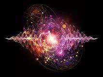 Quantum Wave royalty illustrazione gratis