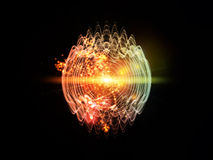 Quantum Wave Stock Photography