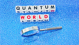 Quantum world Royalty Free Stock Photo