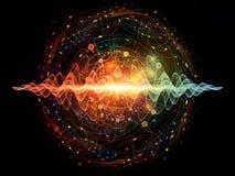 Quantums-Welle Stockbild