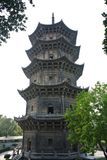 Quanzhou Pagoda. The Pagoda in the Kaiyuan Temple Royalty Free Stock Photos