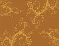 Quapaw Quarter Wallpaper. Twentieth century style wallpaper that is seen in the quapaw quarter houses in central Arkansas. Or furniture fabric Royalty Free Stock Images