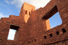 Quarai Mission Ruins. Quarai Ruins at Salinas National Monument in the State of New Mexico Stock Photography