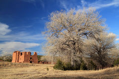 Quarai Mission Ruins. Quarai Ruins at Salinas National Monument in the State of New Mexico Royalty Free Stock Images