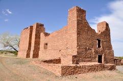 Quarai nelle missioni del pueblo delle saline fotografia stock libera da diritti