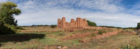 Quarai Ruin. Historic Ruins of Pueblo Missions near Mountainair, New Mexico Stock Image
