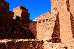 Quarai ruin walls Royalty Free Stock Photos