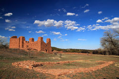 Quarai Ruins. At Salinas National Monument in the State of New Mexico Stock Image