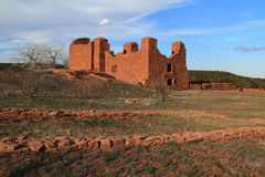Quarai Ruins. At Salinas National Monument in the State of New Mexico Stock Images