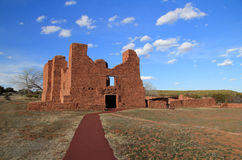 Quarai Ruins. At Salinas National Monument in the State of New Mexico Royalty Free Stock Photography