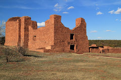 Quarai Ruins. At Salinas National Monument in the State of New Mexico Royalty Free Stock Images