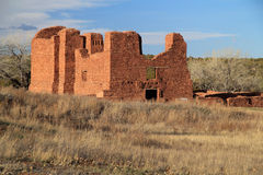 Quarai Ruins. At Salinas National Monument in the State of New Mexico Royalty Free Stock Photo