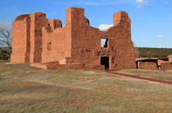 Quarai Ruins. At Salinas National Monument in the State of New Mexico Stock Photo